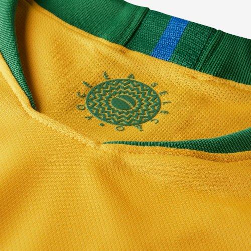 Camisa Nike Seleção Brasil Home 2018 - 11 P. COUTINHO 039d4f6f6a75a