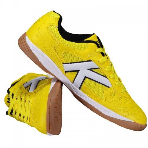 Chuteira Futsal Kelme Copa Amarelo 8061b49435ea2