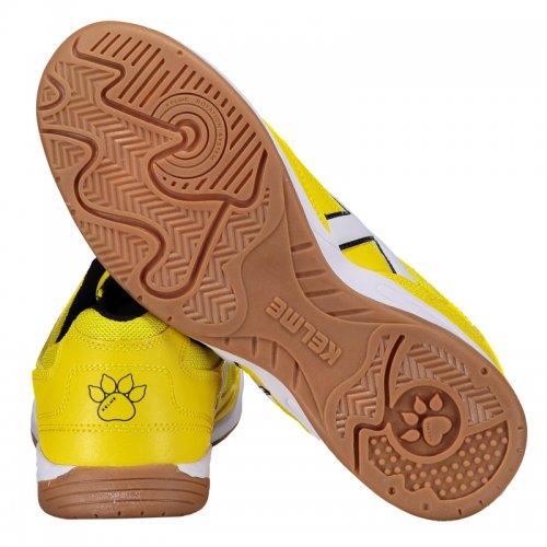 e87c472527 Chuteira Futsal Kelme Copa Amarelo