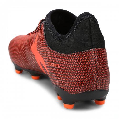 Chuteira Campo Adidas X 17 3 Fg Laranja 685913a2d2644
