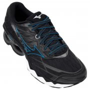 Tênis Mizuno Wave Creation 20 Preto/Azul