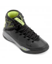 Tênis Under Armour Rocket 2 Preto/Limão
